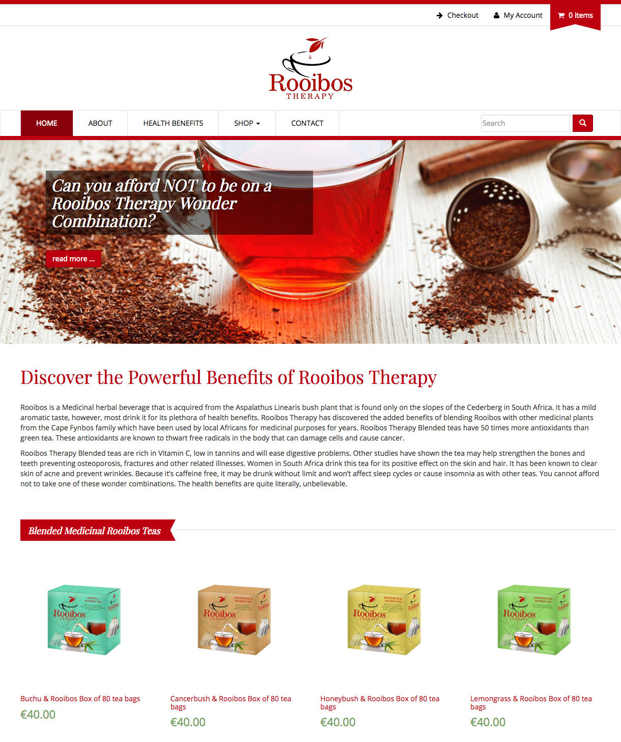 Rooibos Therapy