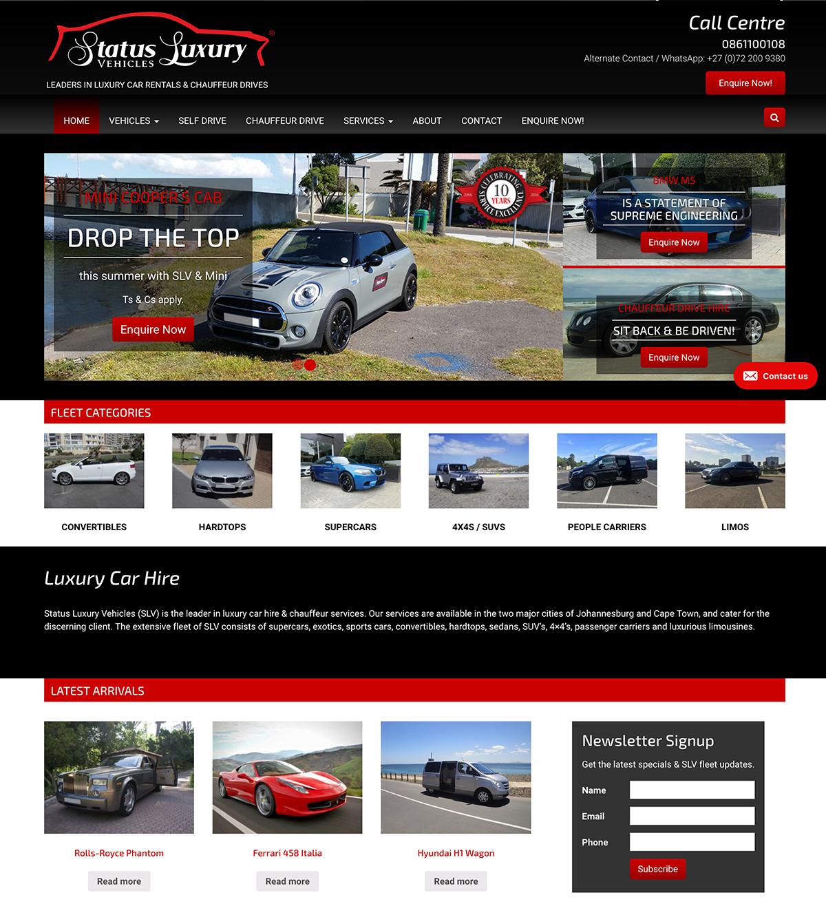 Status Luxury Vehicles